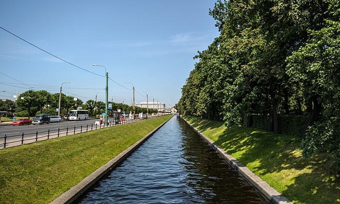 Лебяжья канавка в Санкт-Петербурге