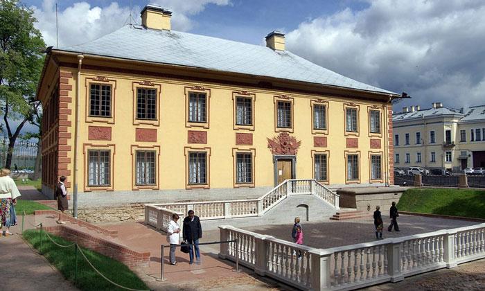 Летний дворец Петра I в Санкт-Петербурге