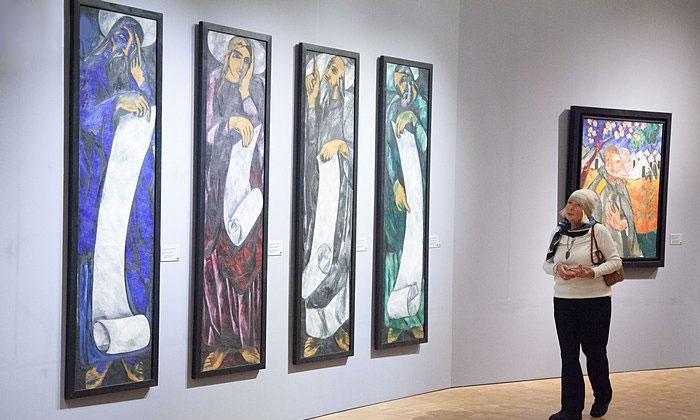 Панно (тетраптих) «Евангелисты» в Русском музее