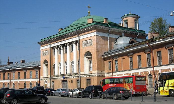Спасо-Конюшенная церковь в Санкт-Петербурге