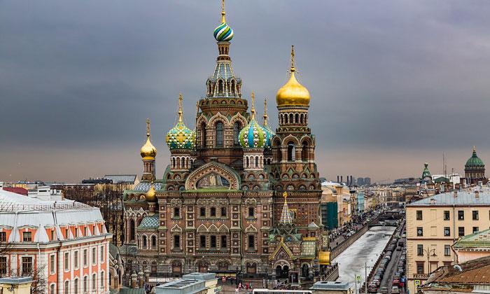 Храм Спаса на Крови Санкт-Петербурга