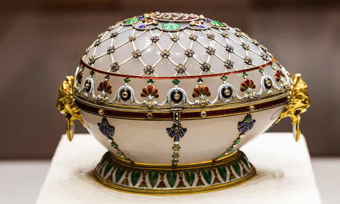 Яйцо-шкатулка «Ренессанс» в Санкт-Петербурге