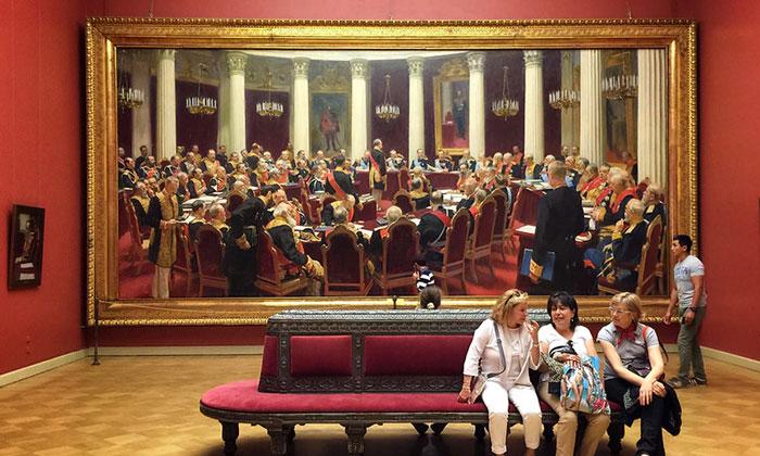 Картина «Заседание Государственного совета» Русского музея