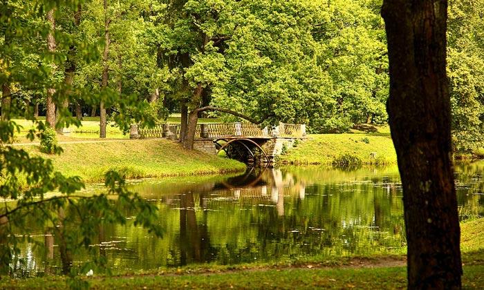 Александровский парк в Царском Селе