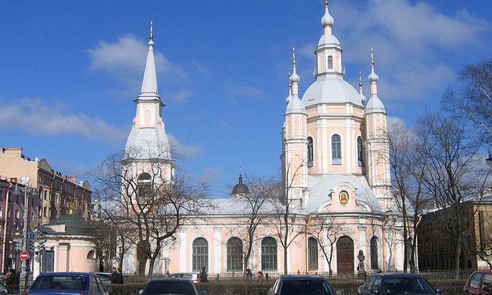 Андреевский собор в Санкт-Петербурге
