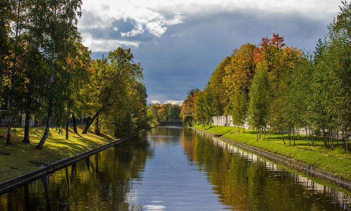 Большой канал Каменного острова Санкт-Петербурга