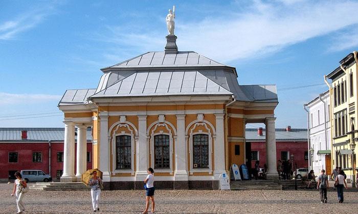 Ботный дом Петра I в Санкт-Петербурге