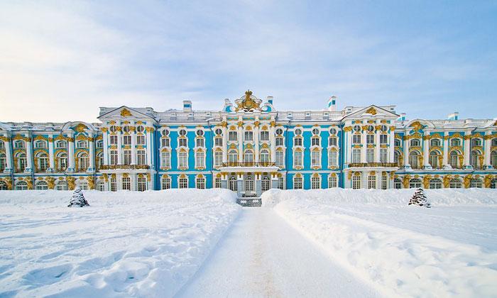 Екатерининский дворец Санкт-Петербурга