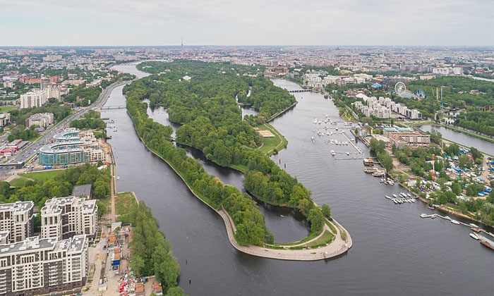 Елагин остров в Санкт-Петербурге
