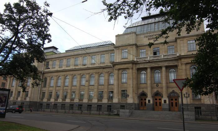Геологоразведочный музей в Санкт-Петербурге
