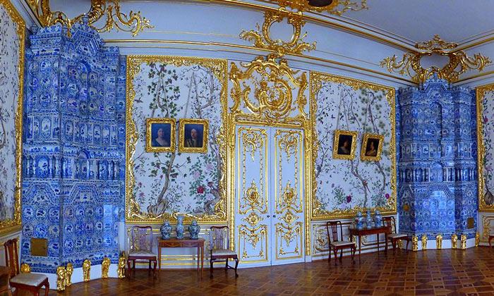 Гостиная Александра I в Царском Селе