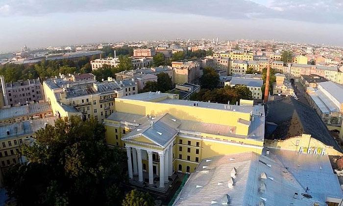 Киностудия «Ленфильм» в Санкт-Петербурге