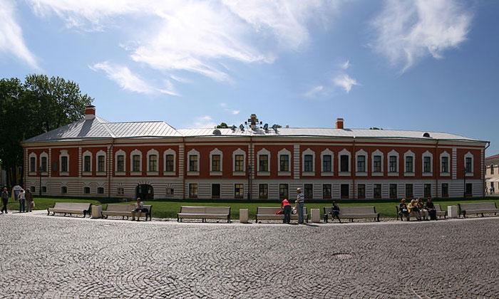 Комендантский дом Петропавловской крепости