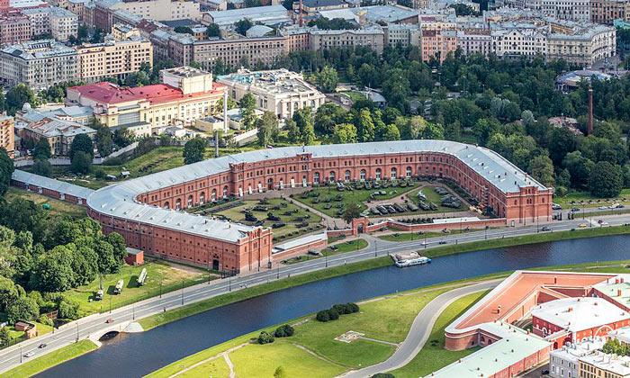 Панорама Кронверка в Санкт-Петербурге