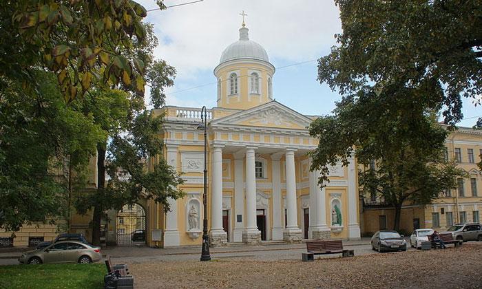 Лютеранская церковь Святой Екатерины в Санкт-Петербурге
