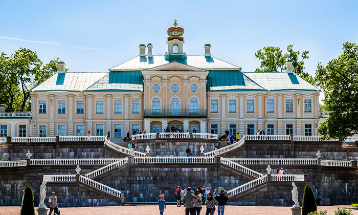 Меншиковский дворец в Ораниенбауме