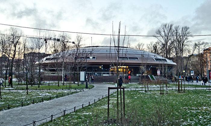 Станция метро «Горьковская» в Санкт-Петербурге