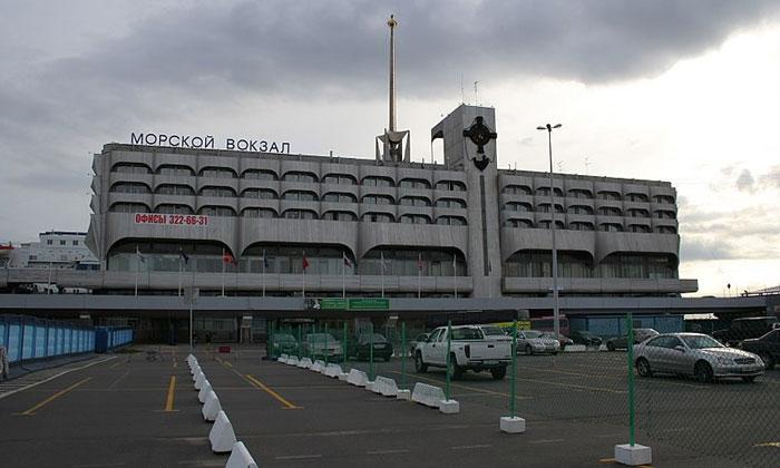 Морской вокзал в Санкт-Петербурге