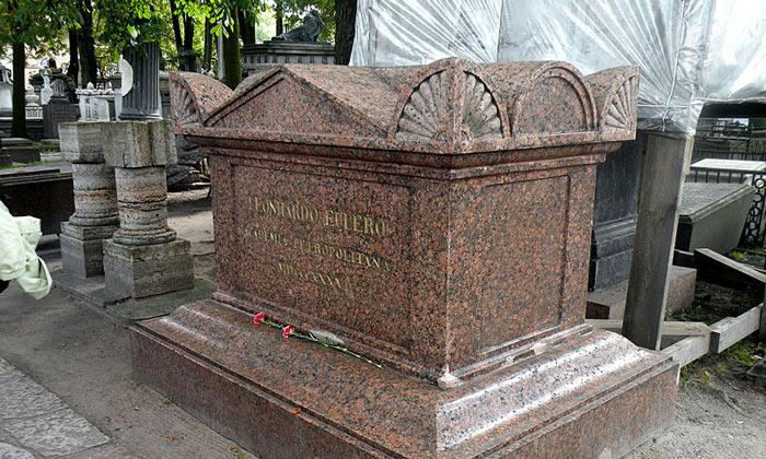 Надгробие Эйлера Лазаревского кладбища Санкт-Петербурга