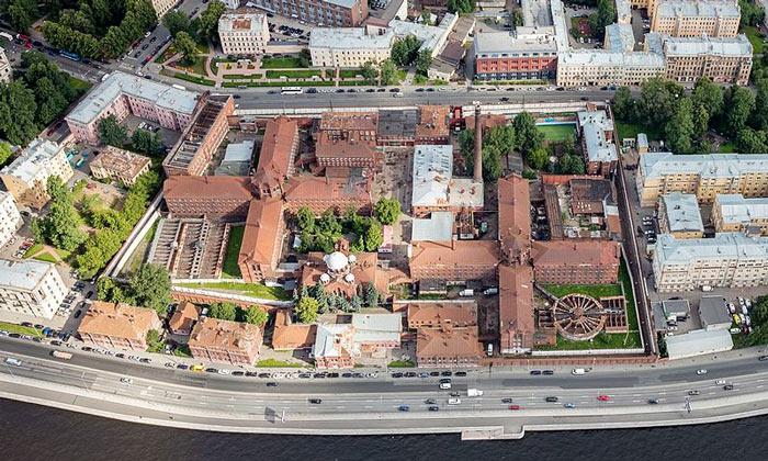 Панорама Крестов в Санкт-Петербурге