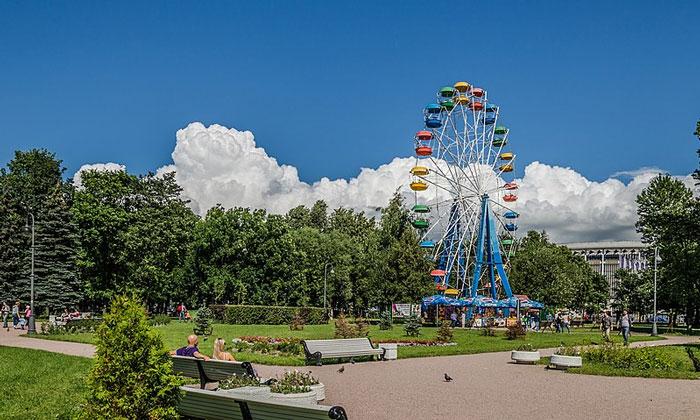 Парк Победы в Санкт-Петербурге