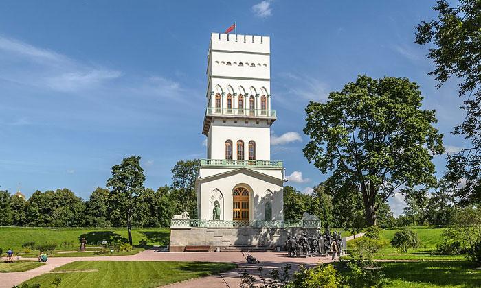 Павильон «Белая башня» в Царском Селе