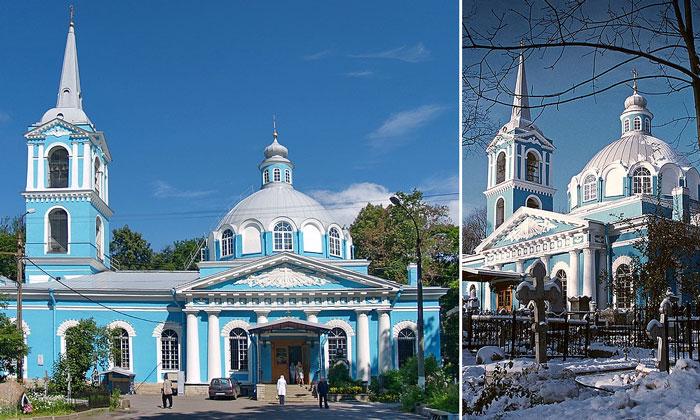 Смоленская церковь в Санкт-Петербурге