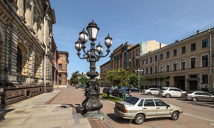 Соляной переулок в Санкт-Петербурге