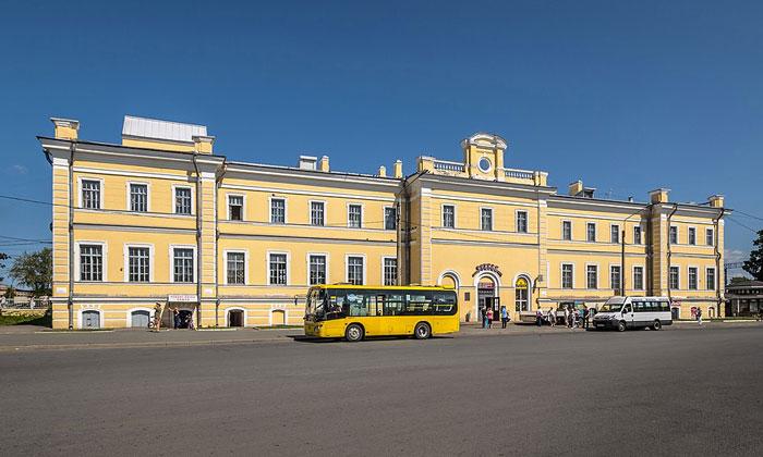 ЖД станция «Ораниенбаум I»