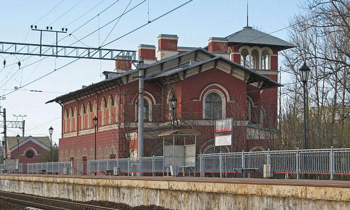 Железнодорожная станция «Стрельна»