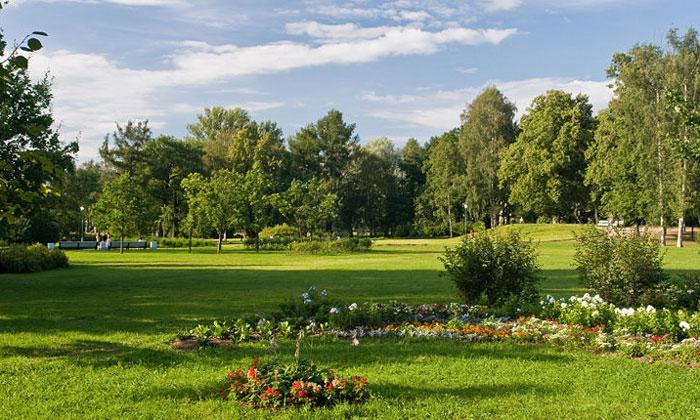 Таврический сад в Санкт-Петербурге