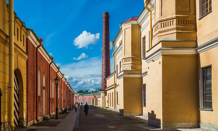 Трубецкой бастион Петропавловской крепости