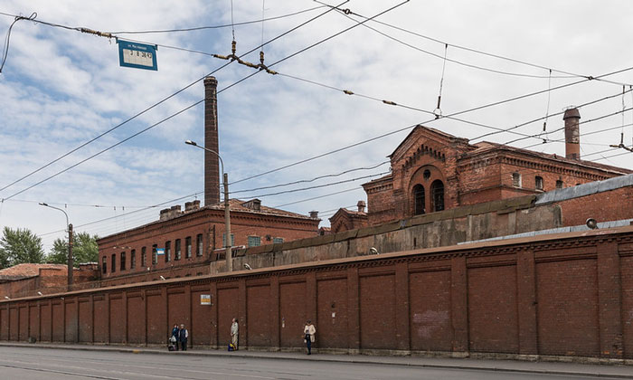 Тюрьма «Кресты» в Санкт-Петербурге