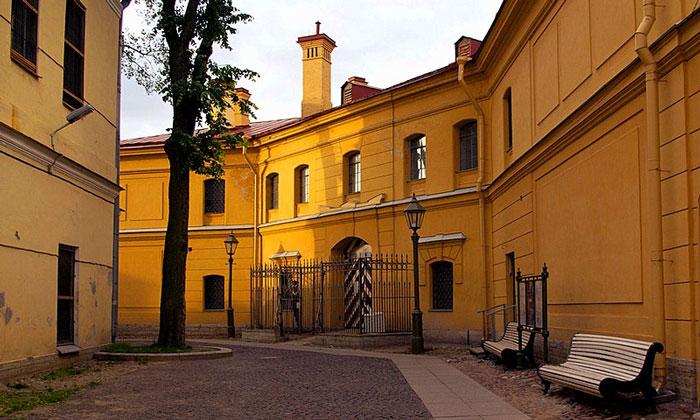Тюрьма Трубецкого бастиона Петропавловской крепости