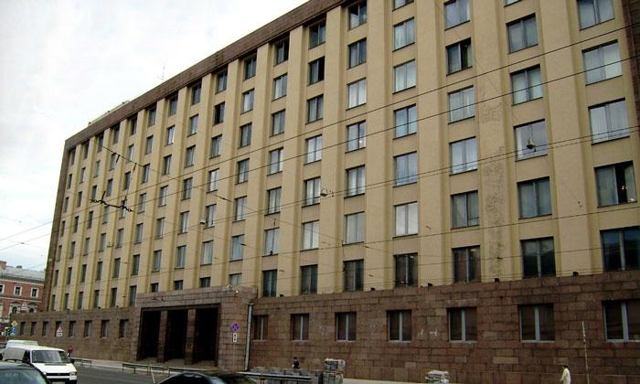 Архитектура Большого дома в Санкт-Петербурге