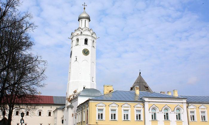 Евфимьевская часозвоня в Великом Новгороде