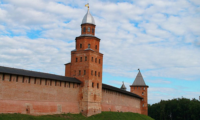 Башня Кокуй Новгородского Кремля
