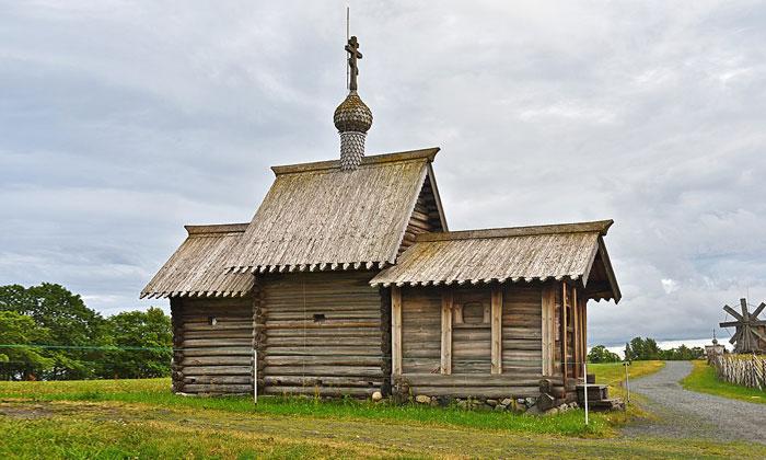 Церковь Воскрешения Лазаря в Кижах
