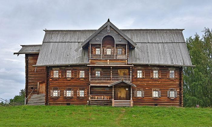 Дом Сергина в Кижах