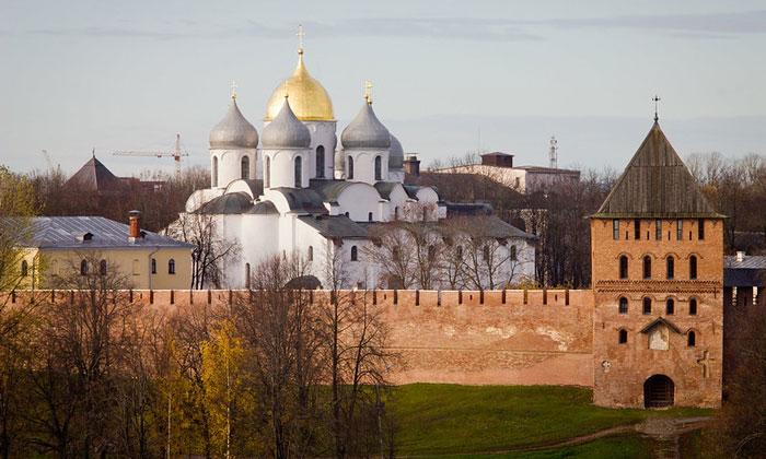 Древний Новгородский Кремль