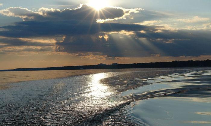 Финский залив в России
