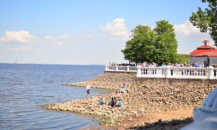 Финский залив со стороны Петергофа