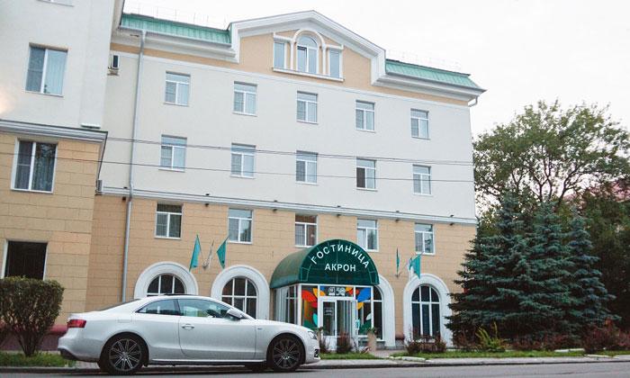 Гостиница «Акрон» в Великом Новгороде