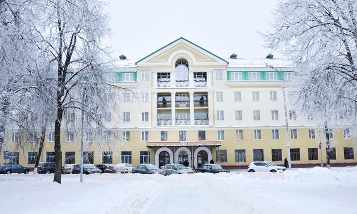 Гостиница «Волхов» в Великом Новгороде
