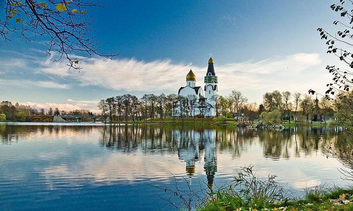 Красоты Сестрорецка в России