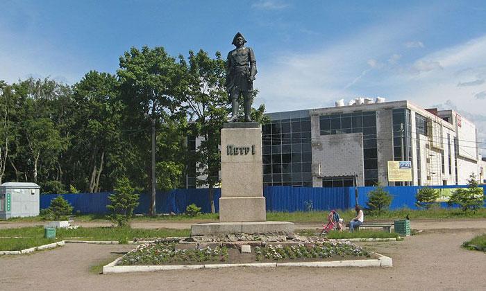 Памятник Петру I в Шлиссельбурге