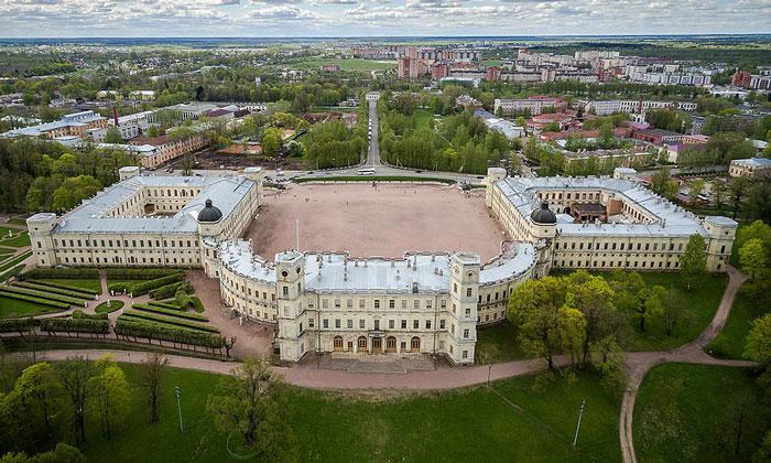 Панорама Гатчинского дворца
