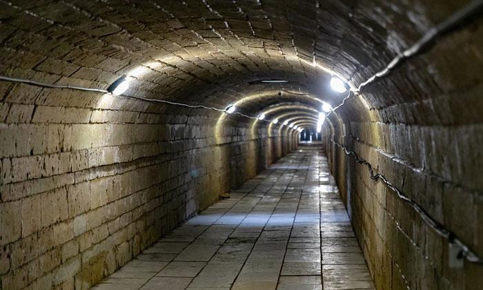 Подземный ход Гатчинского дворца