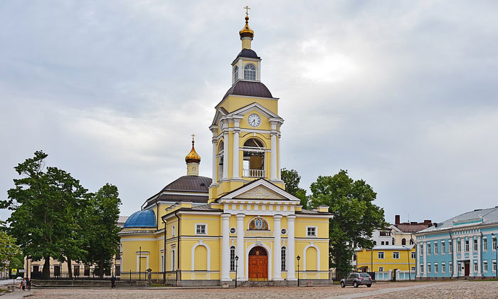 Спасо-Преображенский собор в Выборге