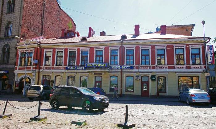 Ресторан «Норд-Вест» в Выборге